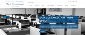 IT Consultant WordPress Theme