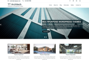 TT Architech WordPress Theme