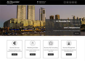 all rounder multipurpose wordpress theme