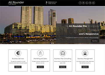 all rounder multipurpose wordpress theme