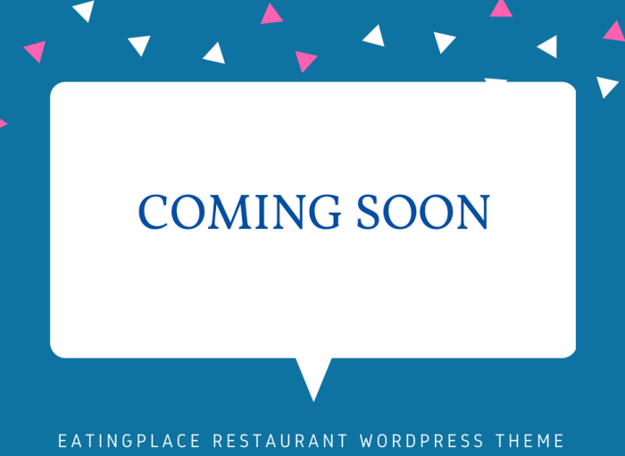 EatingPlace Restaurant WordPress Theme