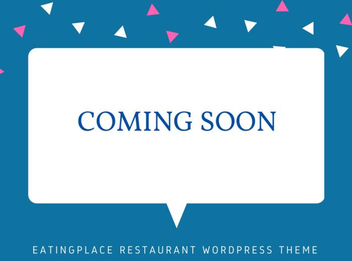 EatingPlace Restaurant WordPress Theme